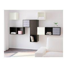 VALJE Wall cabinet with 3 doors - IKEA