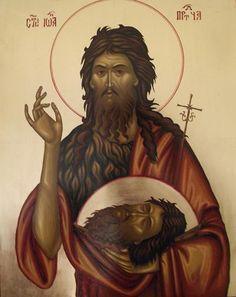 Sf. Ioan Botezatorul Byzantine Art, Saints, Christian, Sf, Google Search, Christians