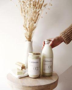 L'Alchimiste, la lessive éco-responsable   MilK Advertising Photography, Packaging Design Inspiration, Diffuser, No Response, Milk, Cleaning, Zero Waste, Colors, Photo Shoot
