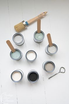 The new neutrals by Annie Sloan Chalk Paint now manufactured in the UK   Finding Silver Pennies #chalkpaint #chalkpaintinspiration #paitningtutorials