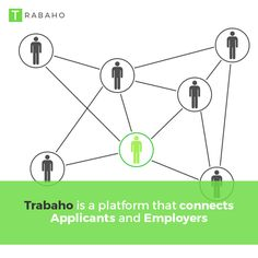 Trabaho is a platform that connects Applicants and Employers #Trabaho #OFW #Jordan #Kabayan #Employers #Connects #Platform #Applicants