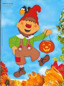 Őszi - Klára2 Kovács - Álbumes web de Picasa Bricolage Halloween, Diy And Crafts, Paper Crafts, Felt Sheets, Winter Time, Decoration, Kids And Parenting, Tigger, Bowser