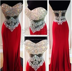 Find More Prom Dresses Information about Actual Pictures Sheath Long Evening Gowns Custom Made Sweetheart Beaded Top Red Corset Prom Dress,High Quality dresses in new jersey,China dress flats Suppliers, Cheap gown design from Fly Bridal Wedding&Evening Dress Co.,Ltd on Aliexpress.com