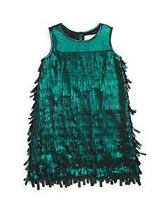 Little Girl's Fringe Dress