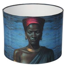 Zulu Girl Lamp Shade by Tretchikoff