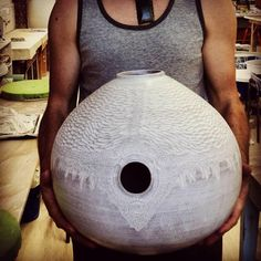 Keilcas.com Ceramic udu drum percussion instruments and pottery
