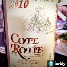 2010 Bernard Burgaud Cote Rotie at Arro in Austin