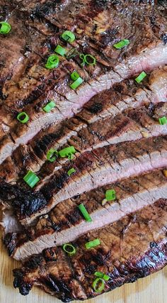 Balsamic Soy Flank Steak