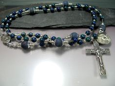 St.Mark Sterling silver rosary