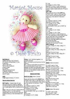 Best 24 of debi birkin margot mouse http com collection en library album view Knitting Dolls Free Patterns, Knitted Dolls Free, Knitted Bunnies, Knitted Animals, Crochet Dolls, Free Knitting, Baby Knitting, Crochet Patterns, Knitting Toys