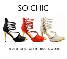 SO CHIC by Athena Footwear <available in 3 colors>  Call (909)718-8295 for wholesale inquiries - thank you!