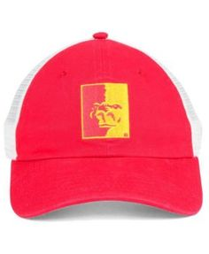 Top of the World Pittsburg State Gorillas Backroad Cap - Red/White Adjustable