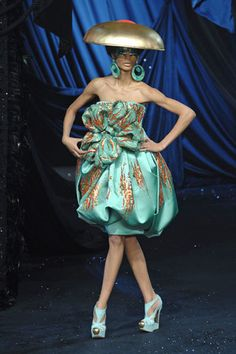 Christian Dior Spring 2008 Couture Fashion Show - Chanel Iman
