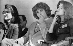 Jacqueline Kennedy Onassis and John F. Kennedy Jr and Caroline Kennedy
