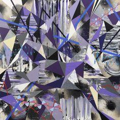 Anthropocene Shuffle, acrylic on canvas, Kara Maria Animal Paintings, Kara, Illustration, Quilts, Canvas, Gallery, Inspiration, Animals, Artists