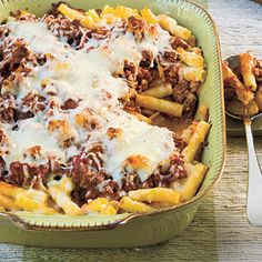 Baked Ziti with Italian Sausage Recipe < Dinner Recipes: Make-Ahead Casseroles - Southern Living