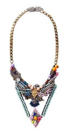 Shourouk's Statement Necklace #collares #moda accesorios #locura propia estilo