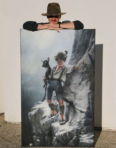 """Done with my """"bui"""". Has been the biggest and most time consuming project so fare. But pretty happy with it. Salzburg, Pretty, Happy, Artist, Projects, Painting, Ladder, Figurine, Pictures"""