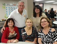 Wonderful photo of some of our Chamber Members (L-R Top Row: Wes Davis and Linda Russo; L-R Bottom Row: Dorothy Dafferton, Ann Witek, and Gail Haller).