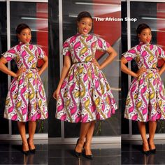 Danna Dress by THEAFRICANSHOP on Etsy, £60.00