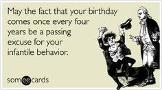Happy Leap Year Birthday lol Pinterest Leap year birthday