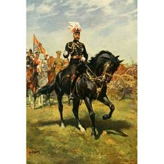 The New Book of the Horse 1911 George V on Rupert Canvas Art - Christopher Clark (18 x 24)