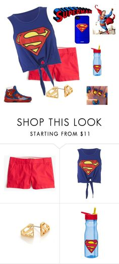 """""""Superman"""" by smith-1979 ❤ liked on Polyvore featuring Freaker, J.Crew, Noir, Zak! Designs, women's clothing, women, female, woman, misses and juniors"""