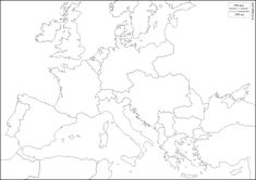 best Blank Map Of Europe Wwi image collection
