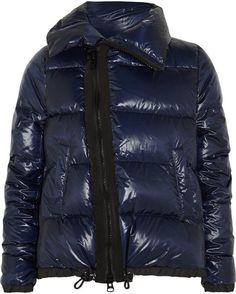 Pin for Later: 20 Puffer Jackets to Bundle Up as Stylishly as Possible This Winter Sacai Down Coat Sacai 'Luck' padded shell down coat (£715)