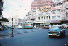 Bayswater and Darlinghurst road, King Cross, Sydney, Australia 1958.
