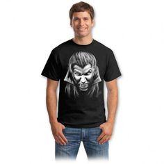 Tricouri cu cranii – Tricou Vampir Bad To The Bone, Graphic Design Inspiration, Horror, Mens Tops, Vintage, Choppers, Spirit, Fashion, Moda
