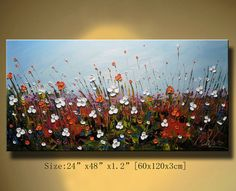 Original Abstract Painting Modern Textured Painting by xiangwuchen, $175.00