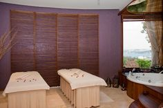 Couples massage. Great gift for the newlyweds after unwinding from the wedding!