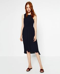 ZARA - NEW IN - DRESS WITH STRETCH TOP
