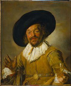 Frans Hals, De vrolijke drinker, 1630. (Rijksmuseum, Amsterdam)
