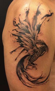 #Phoenix #Anka #Simurg #tattoo