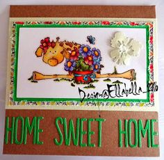 Home Sweet Home, Stamping Bella