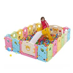 137.70$  Buy now - http://alixfy.worldwells.pw/go.php?t=32777802849 - Kids Playpens Indoor Baby Play Fence Kids Activity Gear Environmental Protection EP Safety Play Yard 137.70$
