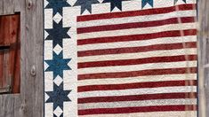 """Make a """"Stars and Stripes"""" Quilt with Jenny!"""