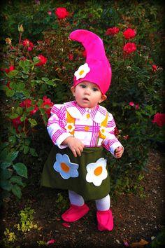 garden gnome kid costume