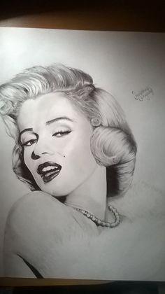 WP 20150107 11 08 00 Pro by BlackBigWolf on DeviantArt  | This image first pinned to Marilyn Monroe Art board, here: http://pinterest.com/fairbanksgrafix/marilyn-monroe-art/ || #Art #MarilynMonroe
