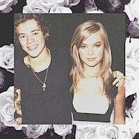 Photoshop is amazing. Harry and Tessa.