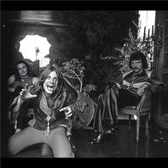 Ozzy Osbourne and Tony Iommi-Black Sabbath. Ozzy Osbourne Black Sabbath, God Bless Ozzy Osbourne, Classic Rock Artists, Geezer Butler, Zakk Wylde, Solo Photo, Tribute, Heavy Rock, Heavy Metal Music