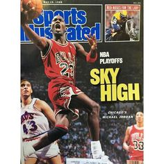 SI Cover from this date in 1988. #repre23nt #mjmondays #sportsillustrated