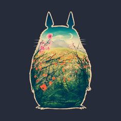 Check out this awesome 'studio+ghibli+totoro+logo+the+neighbor+totoro' design on @TeePublic!