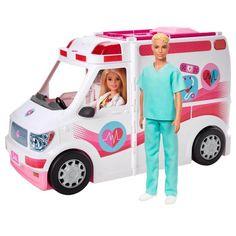 Poupée Barbie Mattel - Barbie, Ken et leur véhicule médical - 😍 Découvrir ici - #Jouets #PicWicToys #Toys #Noel #Cadeaux #Barbie #Poupee #PoupeeBarbie #Fille #JouetsFille Mattel Barbie, Barbie Club, Barbie E Ken, Barbie Chelsea Doll, Play Barbie, Malibu Barbie, Barbie Doll Accessories, Doll Clothes Barbie, Barbie Doll House