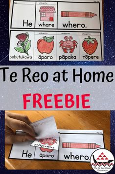 Te Reo Māori at Home.: Try this free te reo printable to use at home with your tamariki. It will help them  learn or reinforce the colour whero in te reo Māori, by putting it into a meaningful context. Color Activities, Classroom Activities, Maori Words, Bilingual Classroom, Teachers Aide, Teaching Colors, Maori Art, Creative Teaching, Early Childhood Education