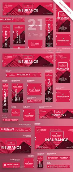 Insurance Company Banner Pack