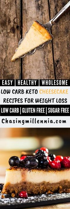 Check out these low carb cheesecake recipes that are keto and diabetic friendly. Most recipes are sugar free, no bake, easy, super healthy & for weight loss Keto Cheesecake, Best Low Carb Cheesecake Recipe, Sugarfree Cheesecake Recipes, Sugar Free Cheesecake, Easy Cheesecake Recipes, Dessert Recipes, Easy Recipes, Keto Recipes, Lunch Recipes