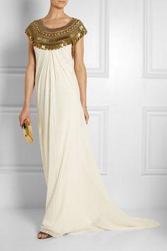 Temperley London-Goddess embellished silk-chiffon gown $4,180